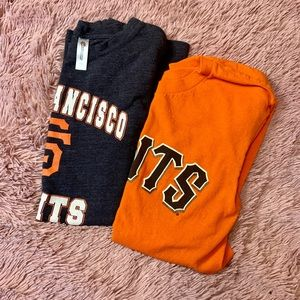 SF Giants baseball set